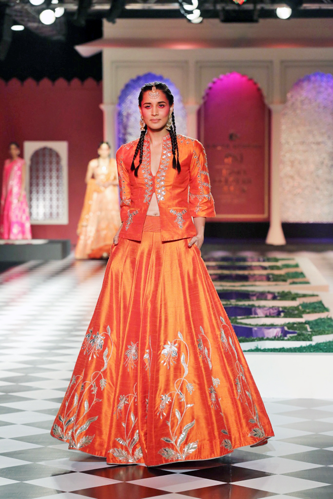 India Couture Week 2016 | Akanksha Redhu | And2