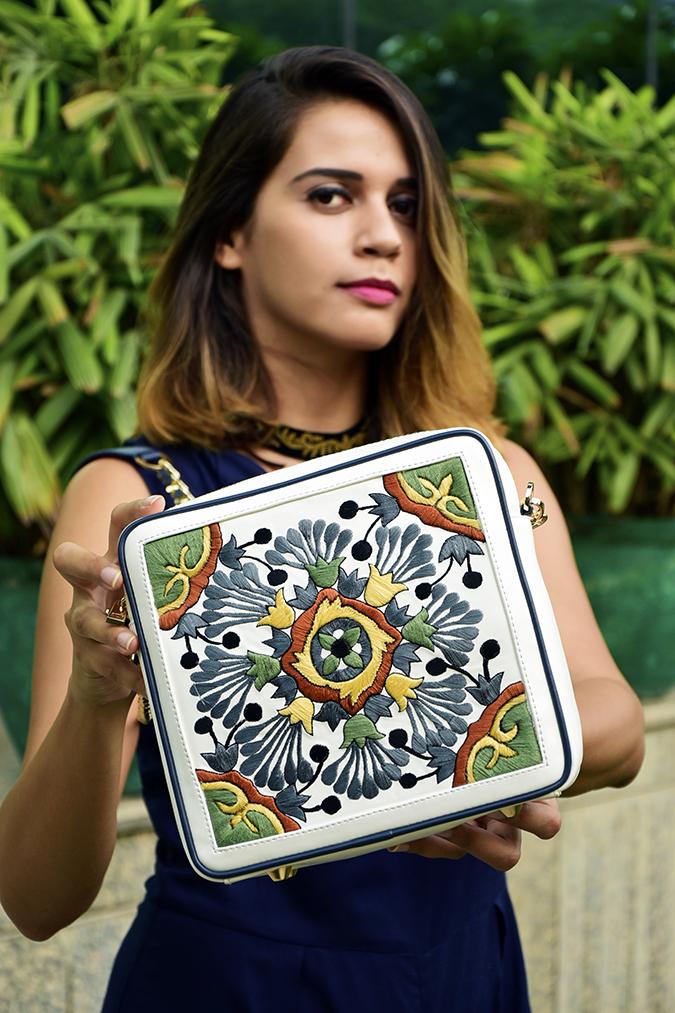 Playsuits | Sbuys | Akanksha Redhu | holding bag in focus
