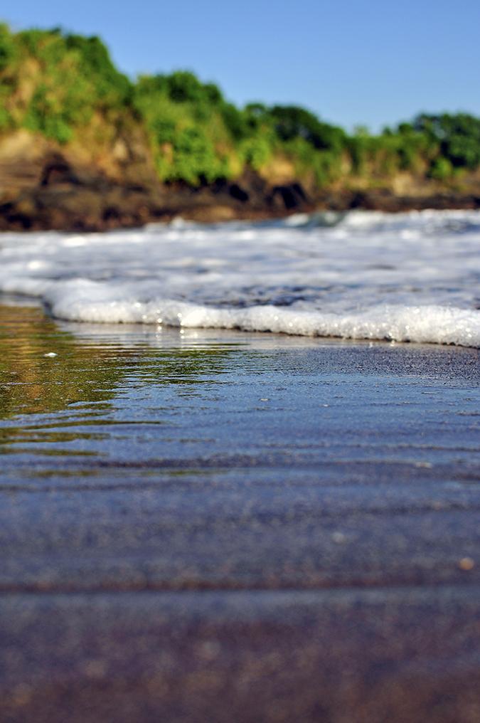 Kedungu Beach | Bali | Akanksha Redhu | foam close rocks blurred