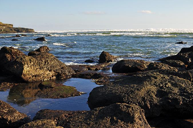 Kedungu Beach | Bali | Akanksha Redhu | rocks water wide