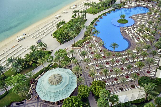 Emirates Holidays | Dubai | Akanksha Redhu | atlantis pool view from room