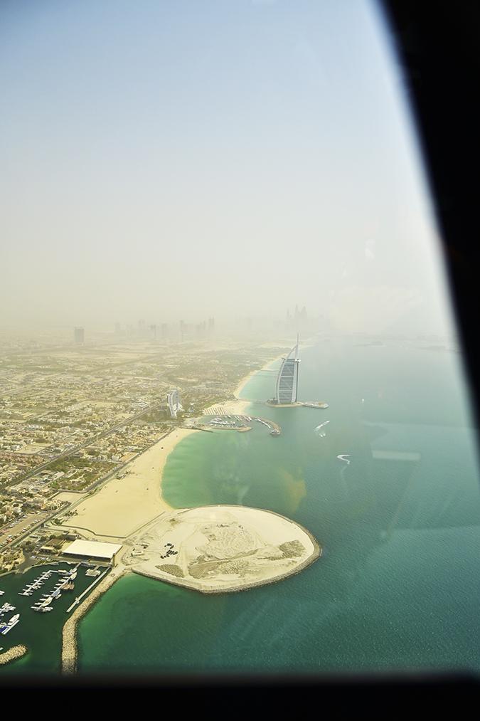 Emirates Holidays | Dubai | Akanksha Redhu | heli dubai view burj al arab
