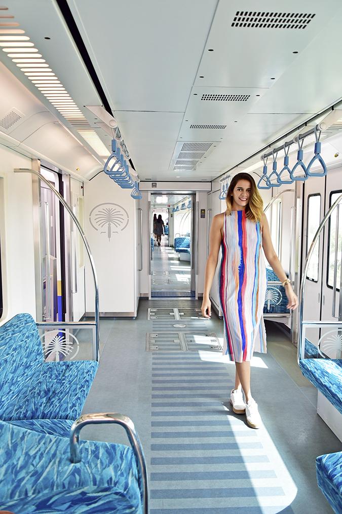 Emirates Holidays | Dubai | Akanksha Redhu | monorail look hm