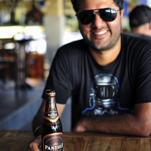 Cutie amp the beer At Lovina Beach httpakanksharedhucom akanksharedhu pantherstouthellip