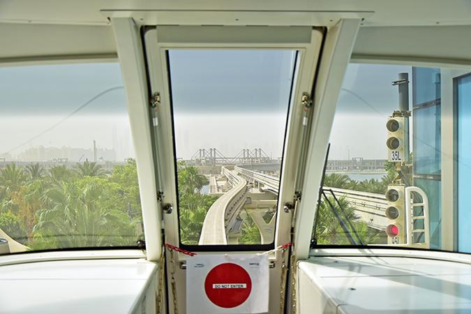 Atlantis The Palm | Dubai | Emirates Holidays | Akanksha Redhu | monorail start