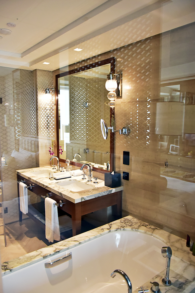 Taj Dubai | #EmiratesHolidays | Akanksha Redhu | washroom