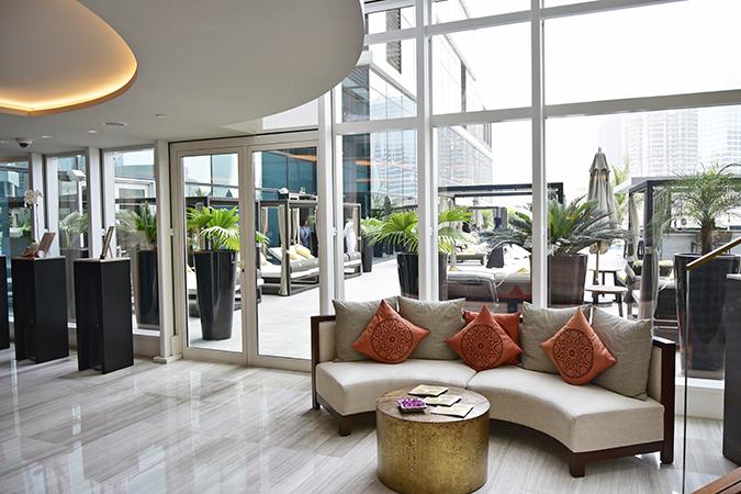 Taj Dubai | #EmiratesHolidays | Akanksha Redhu | spa sitting
