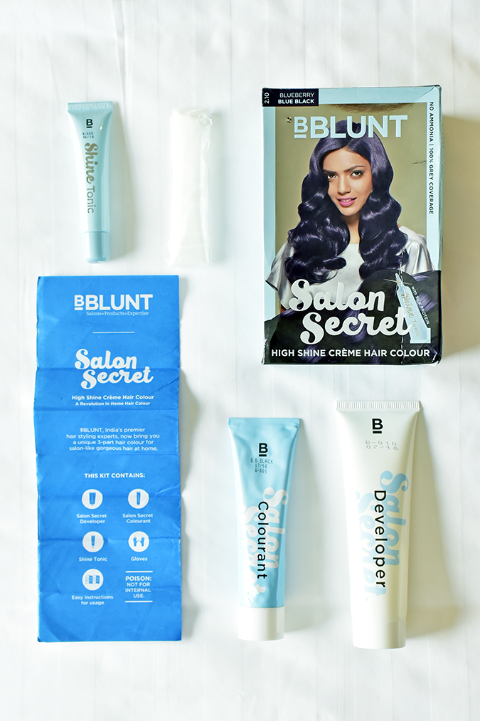 Your ultimate guide to home hair colour akanksha redhu for Bblunt salon secret