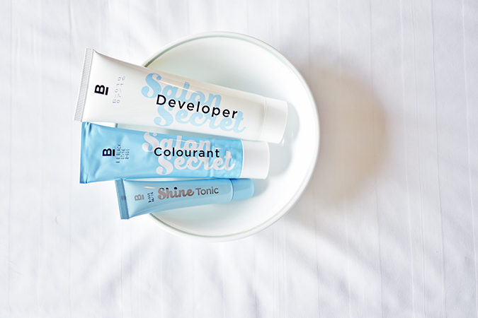 BBLUNT Salon Secret Hair Colour | Akanksha Redhu | 3 tubes in bowl