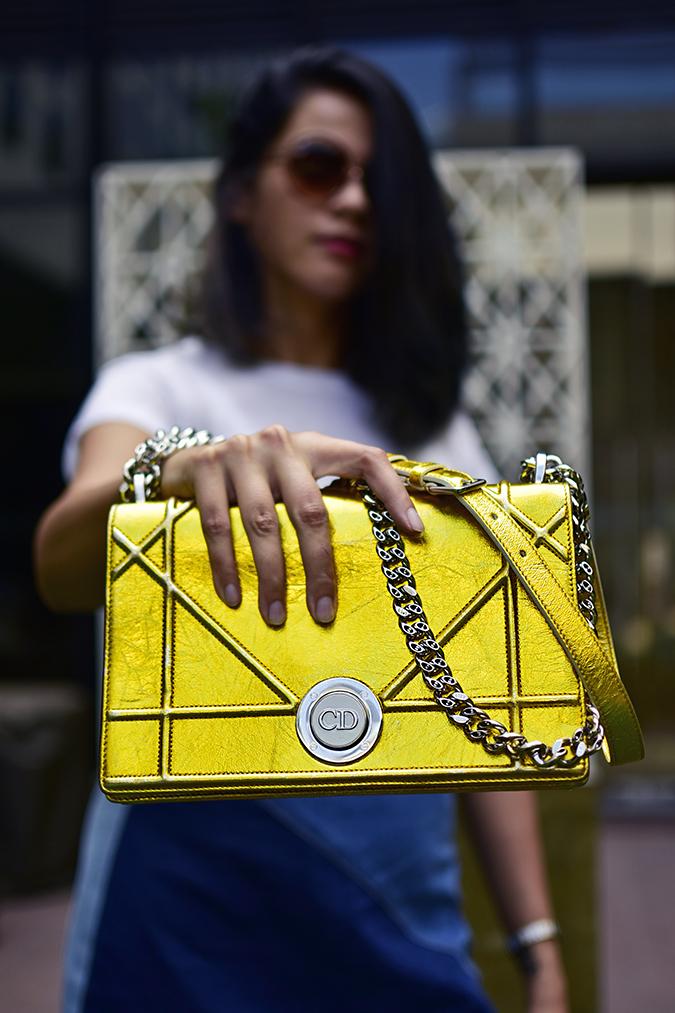 Dior | Akanksha Redhu | half front bag focus