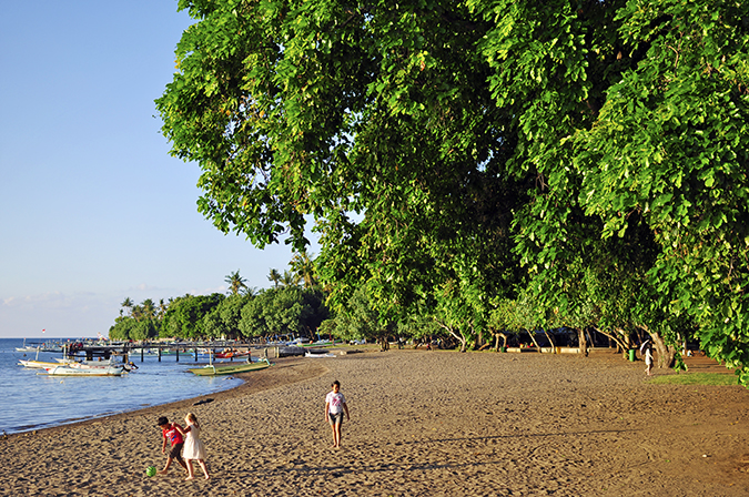 Lovina Beach | Bali | Akanksha Redhu | beach trees wide