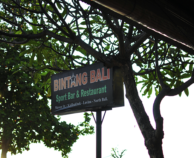 Lovina Beach   Bali   Akanksha Redhu   resto name