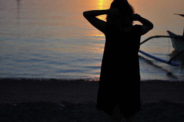 Lovina Beach | Bali | Akanksha Redhu | me outline sunset