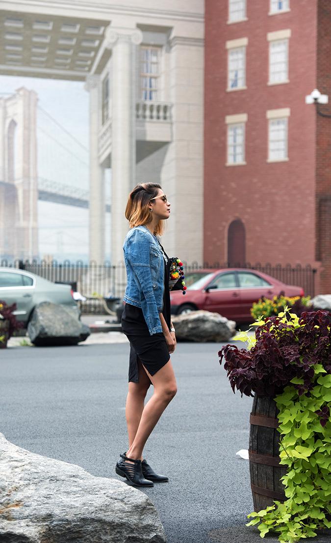 New York | Akanksha Redhu | full side jacket on shoulders