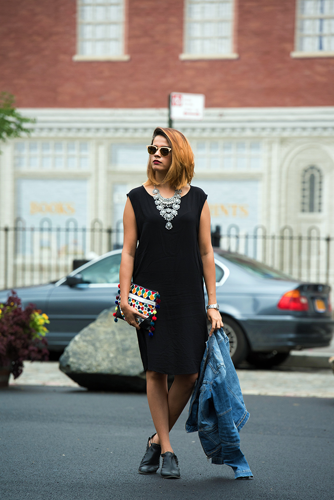 New York | Akanksha Redhu | full front dress jacket hanging