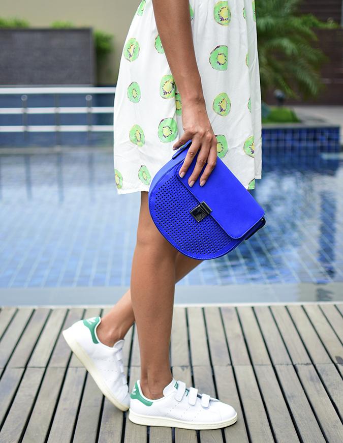 Benetton | Akanksha Redhu | bottom half side bag
