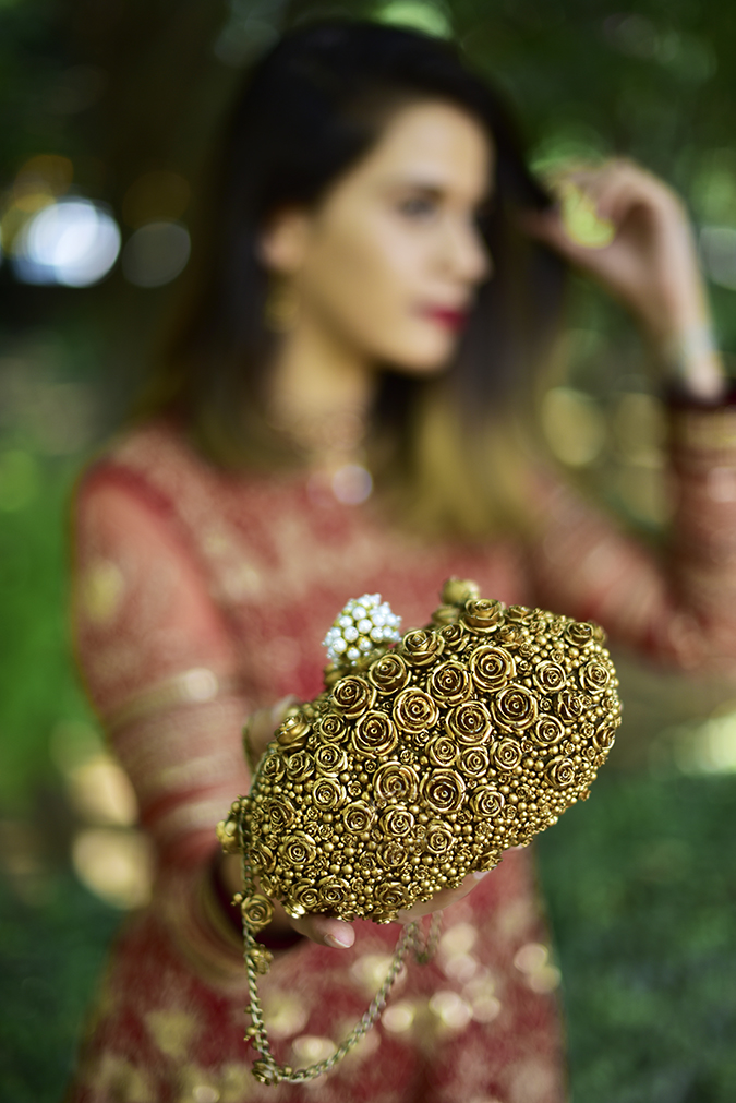 Tarun Tahiliani   Akanksha Redhu   bag in focus