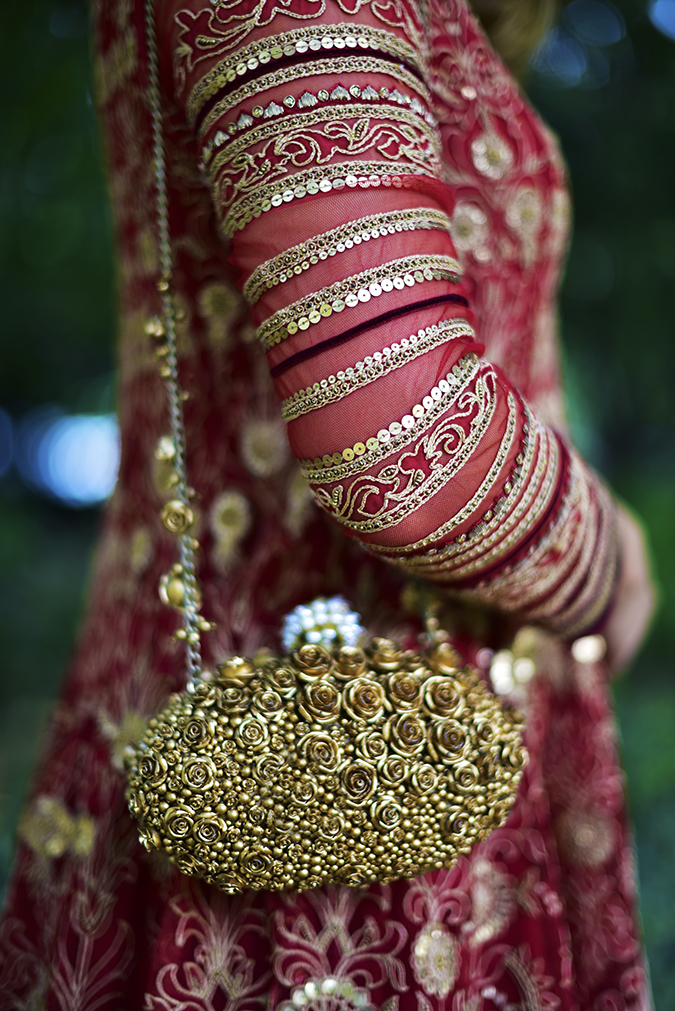 Tarun Tahiliani | Akanksha Redhu | arm details and bag