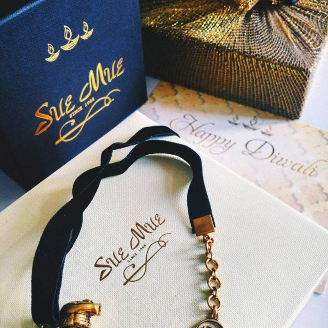 The prettiest velvet choker by suemue as a Diwali gifthellip