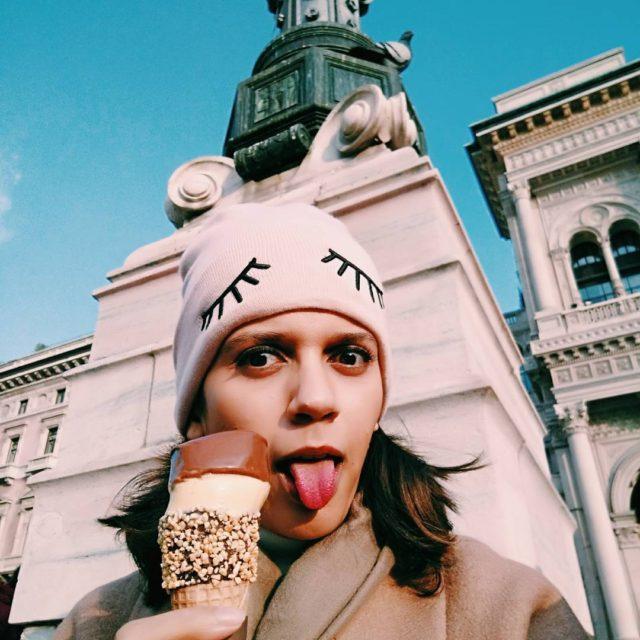 My new beanie cap  my tongue  my posthellip