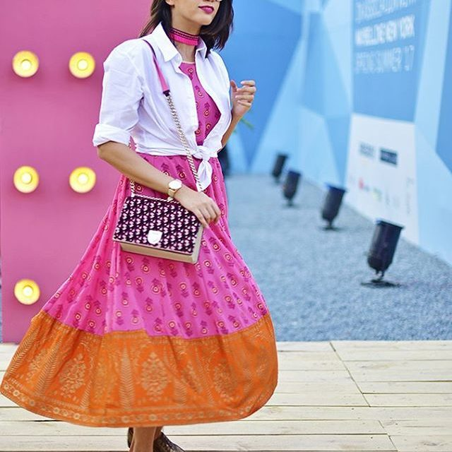 Candy pop amazonfashionin look for Day 02 of aifwss17 onhellip