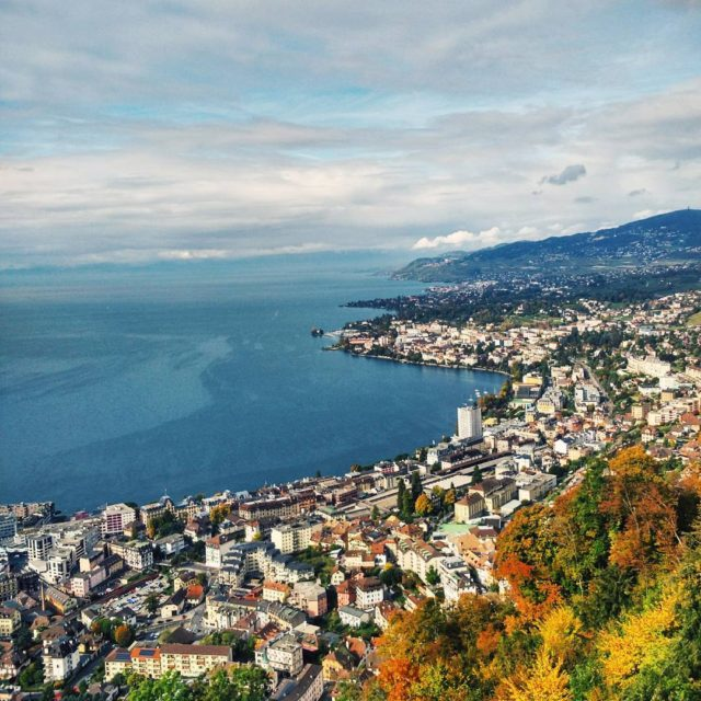 The stunning view of Lake Geneva amp Switzerland from glionhospitalityschoolhellip