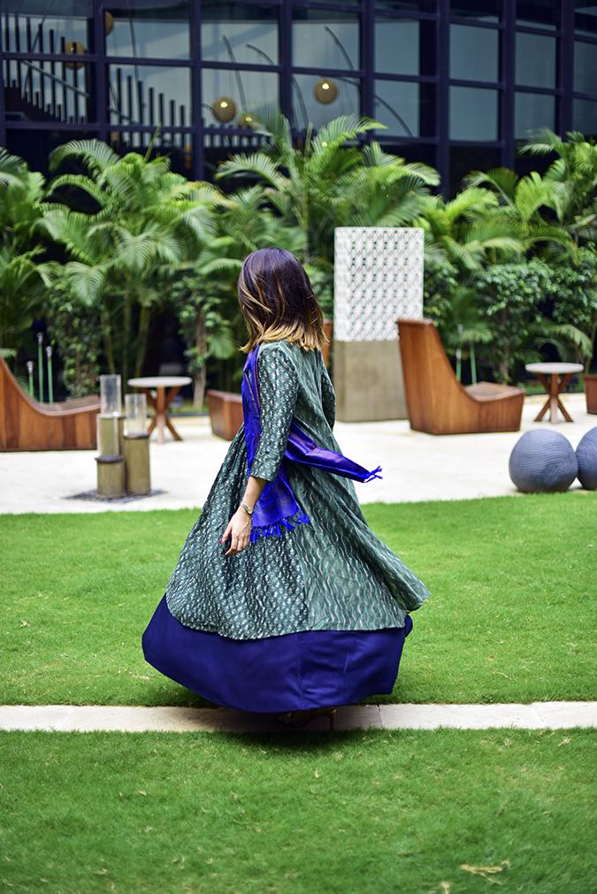 Amazon India Modern Festive | Akanksha Redhu | twirl side no face