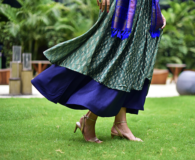 Amazon India Modern Festive | Akanksha Redhu | bottom wide fly
