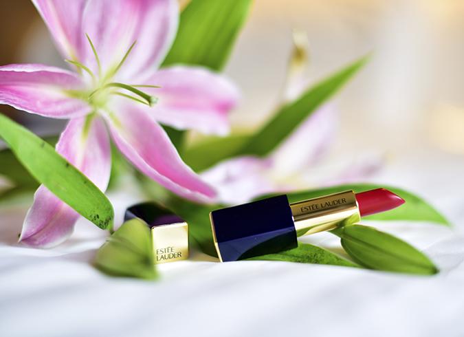 #BornFromColor | Estée Lauder | Akanksha Redhu | lipstick flower wide