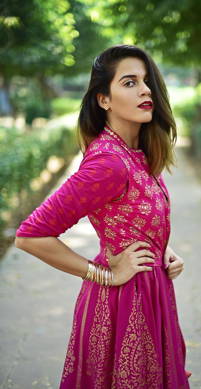 Max Fashion Festive Collection | Akanksha Redhu | half side long path