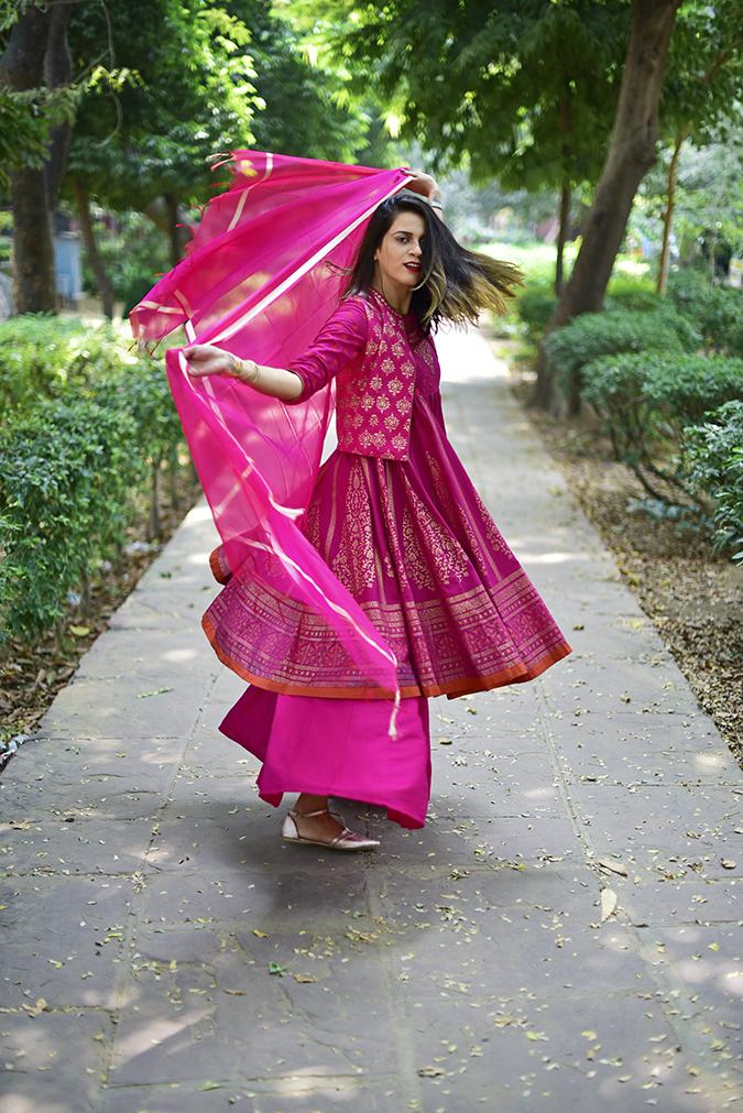 Max Fashion Festive Collection | Akanksha Redhu | path full twirl dupatta
