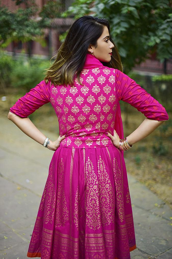 Max Fashion Festive Collection | Akanksha Redhu | half back