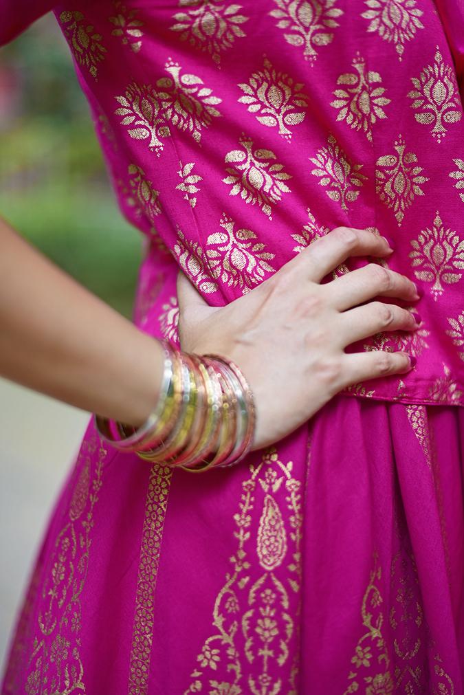 Max Fashion Festive Collection | Akanksha Redhu | print details