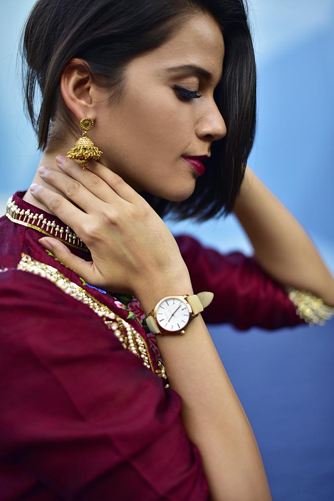 #AIFWSS17 | Akanksha Redhu | jhumki watch