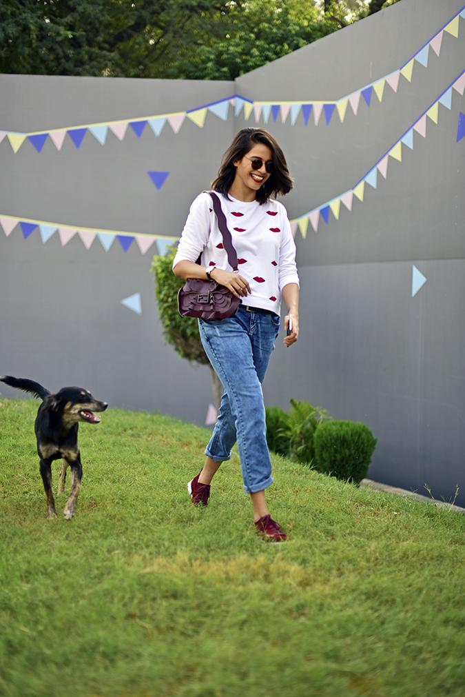 Coolpad India | Akanksha Redhu | dog walk