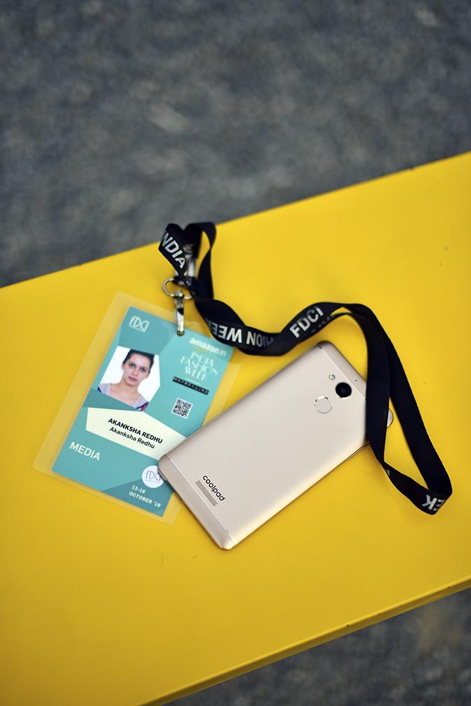 Coolpad India | Akanksha Redhu | with media badge