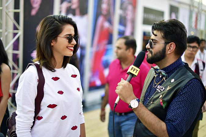 Coolpad India | Akanksha Redhu | getting interviewed