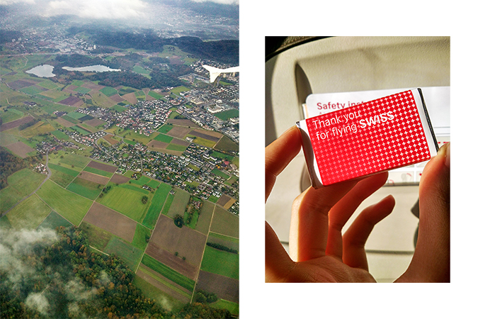 #GlionLuxury | Akanksha Redhu | land through plane window chocolate 2