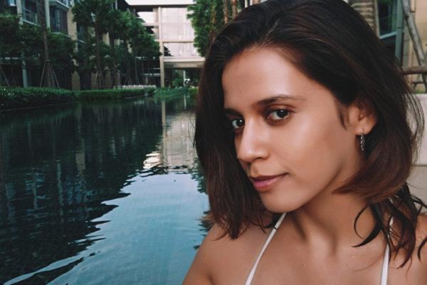 Baan Mai Khao | Phuket | Akanksha Redhu | bikini hand in water