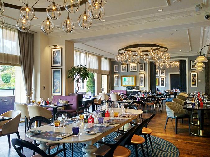 #GlionLuxury | Akanksha Redhu | montreux palace restaurant interiors 23