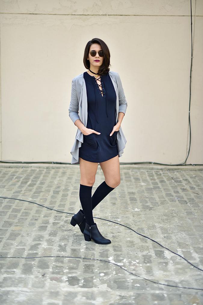 Sbuys | Akanksha Redhu | full front jacket leg bent