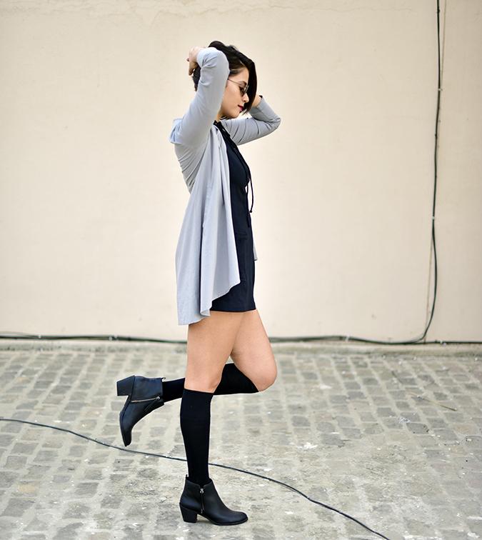 Sbuys | Akanksha Redhu | full side jacket leg raised