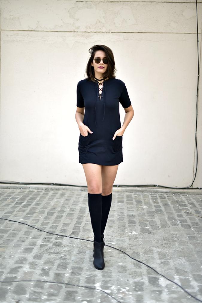 Sbuys | Akanksha Redhu | full front dress leg in front