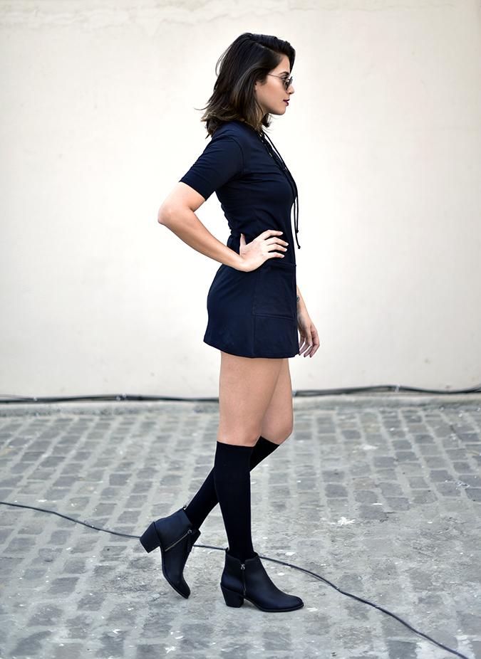 Sbuys | Akanksha Redhu | full side dress leg bent