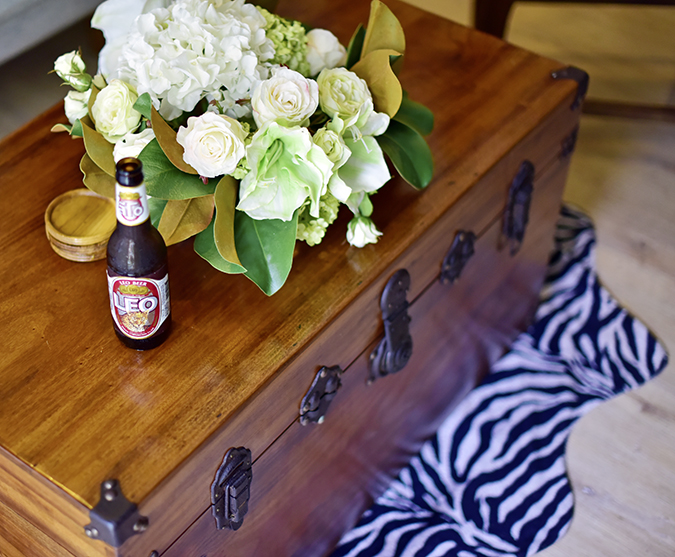 Baan Mai Khao | Phuket | Akanksha Redhu | beer trunk table