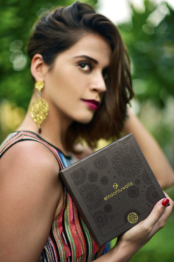 Swarovski Confluence   Akanksha Redhu   face branding