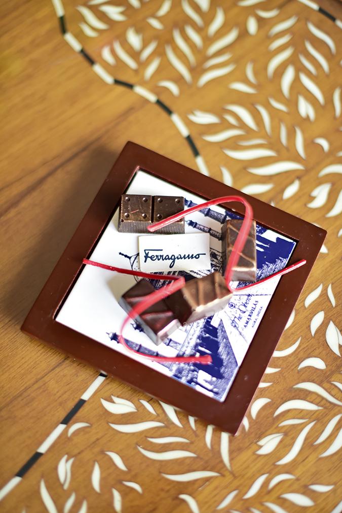 Salvatore Ferragamo | Akanksha Redhu | chocolates