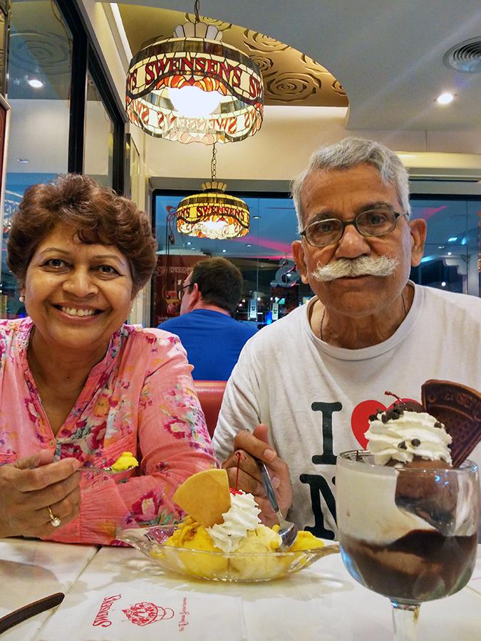 Baan Mai Khao | Phuket | Akanksha Redhu | folks eating ice cream