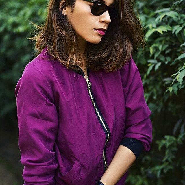 This silk bomber jacket by netelier is so faaine! hellip