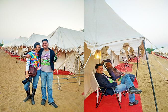 pairs at tents combo